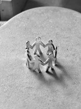 Load image into Gallery viewer, Unidos ring in silver - martha cristina