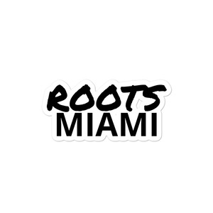 Roots Miami Bubble-free stickers