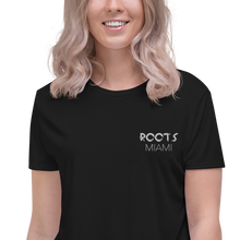 Load image into Gallery viewer, Roots Miami Crop Tee