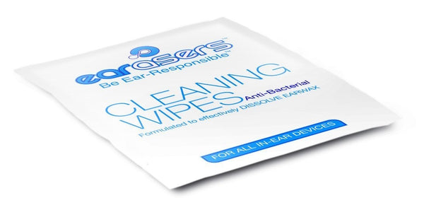 Cleaning Wipes / 30 per box - Earasers.Shop