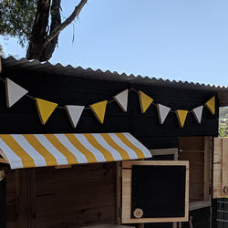 Fabric Cover for Timber Awning