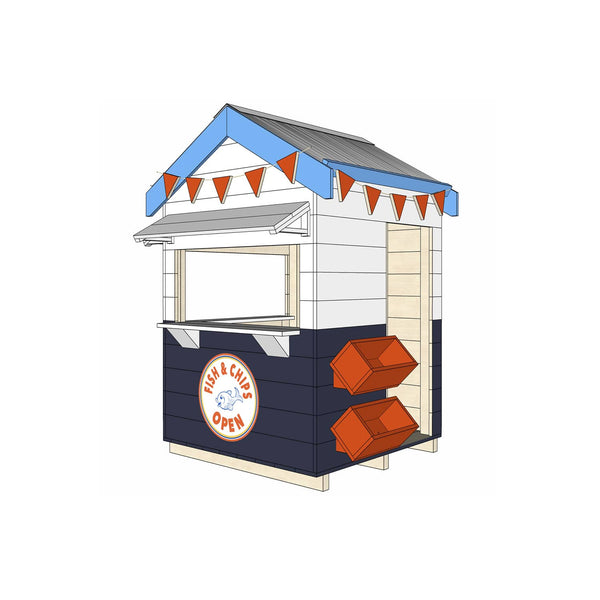 Fish & Chip Shop Cubby House