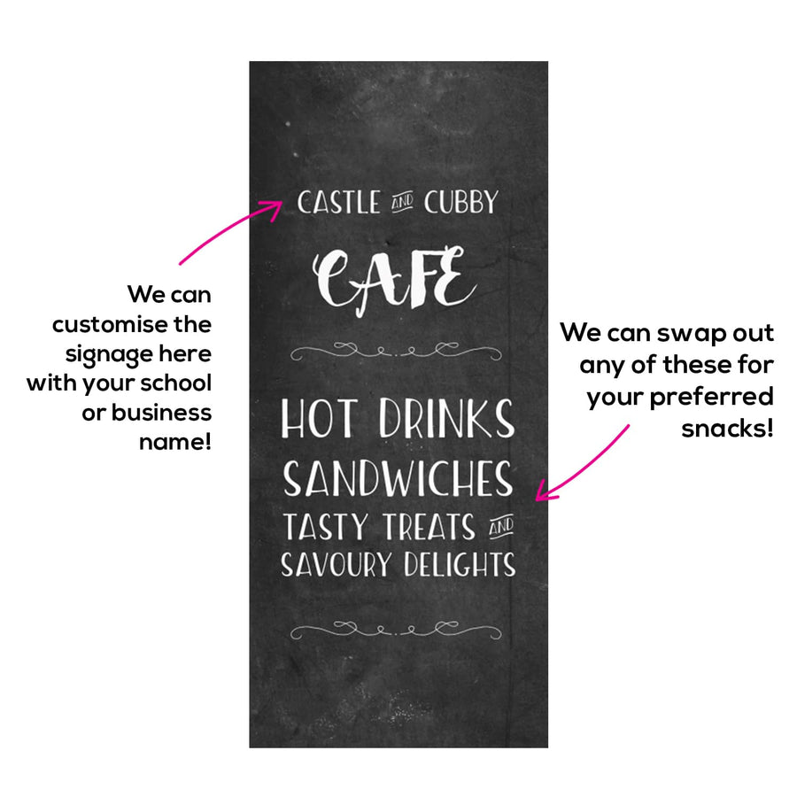 Cafe Cubby House - Little Square 1200 x 1200mm - Commercial Grade