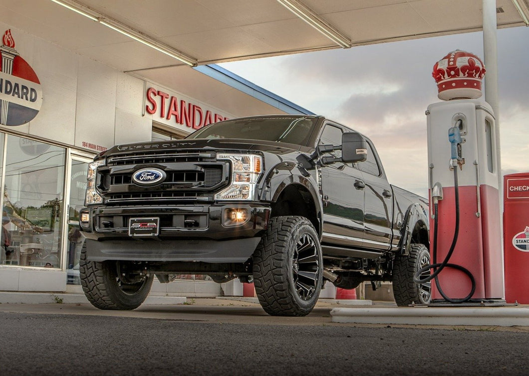2021 Ford F250 Lifted Black Widow by SCA Performance