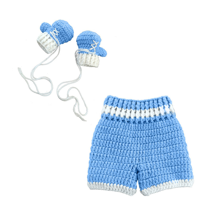 Boxing Baby Crochet Outfit