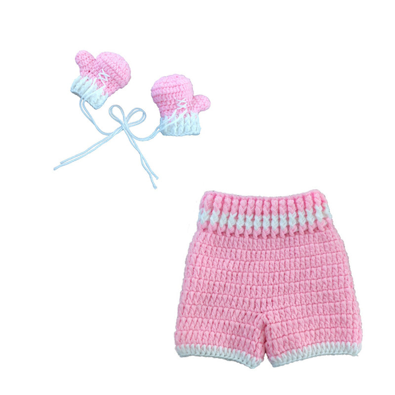 Pink Boxing Baby Crochet