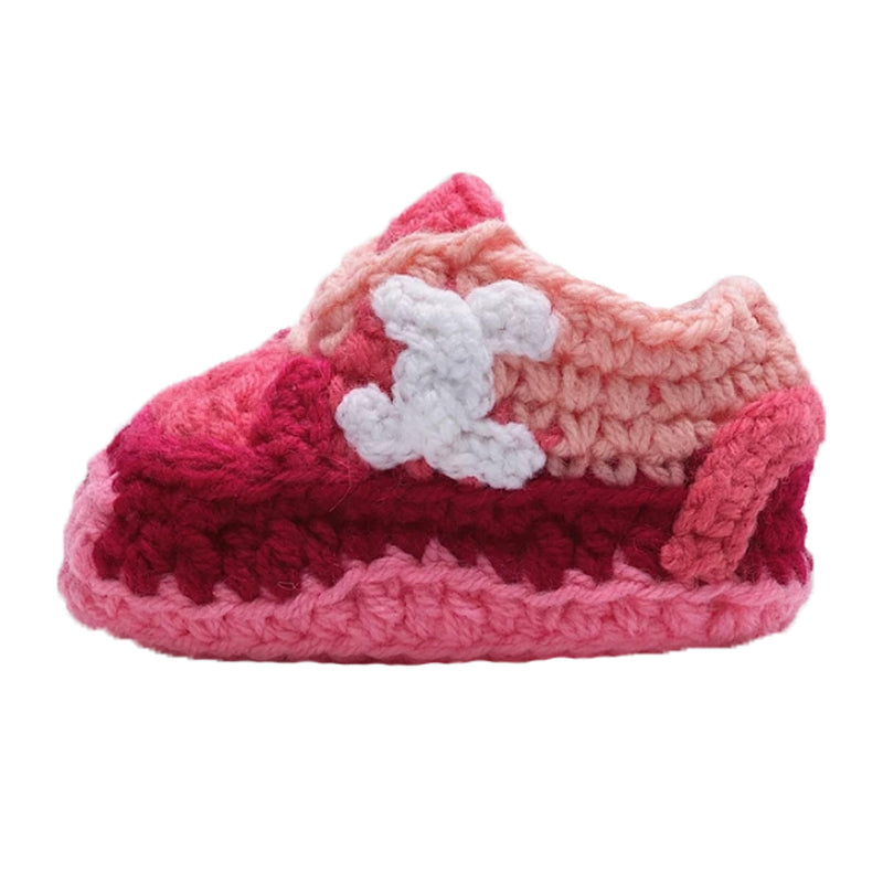 Chanel Crochet Baby Booties