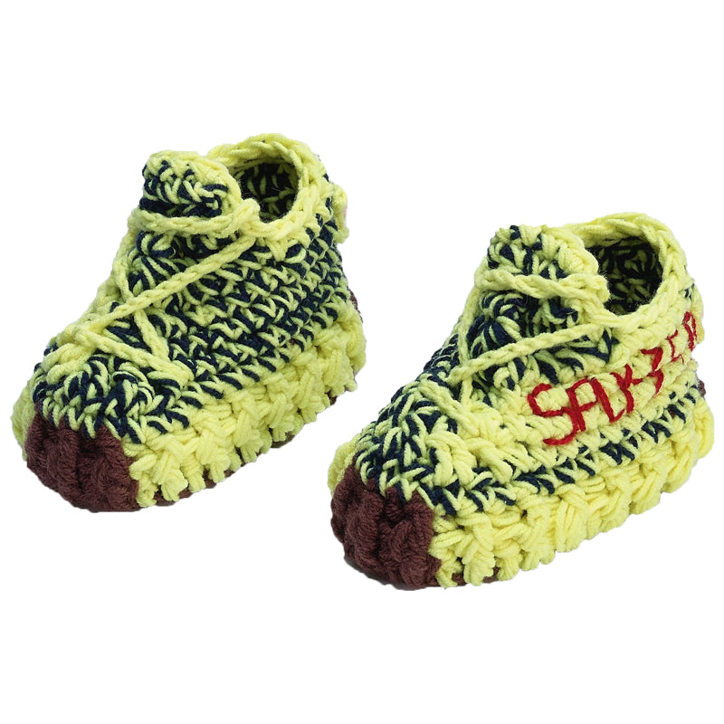 Frozen Jeezy Crochet Shoes for Baby