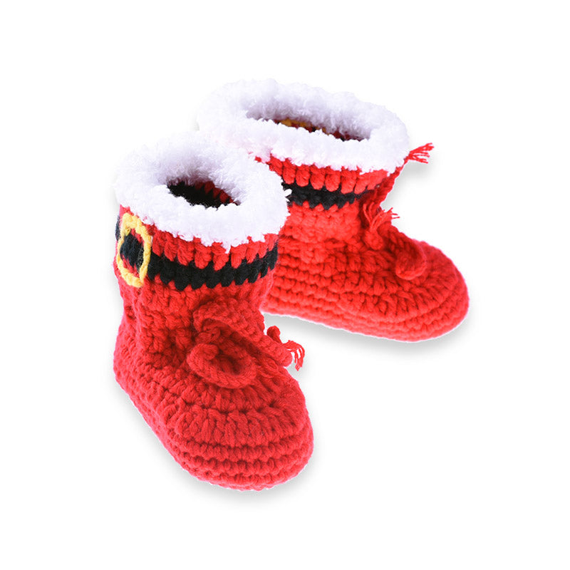 crochet santa outfit for baby