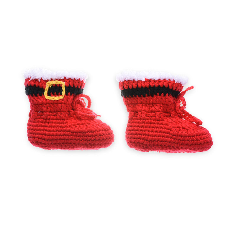 baby crochet santa outfit