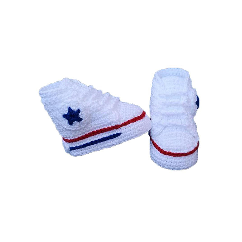 Converse Chuck Taylors Baby Crochet Shoes