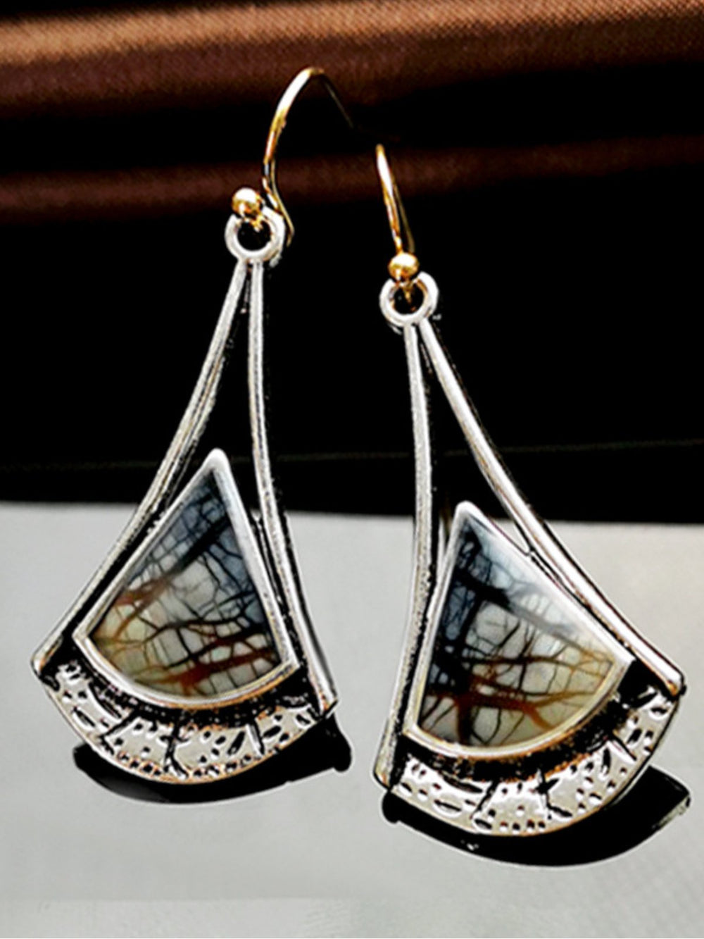 Artistic Vintage Pattern Earrings