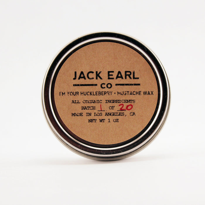 I'm Your Huckleberry Mustache Wax 1 oz. - Jack Earl Company