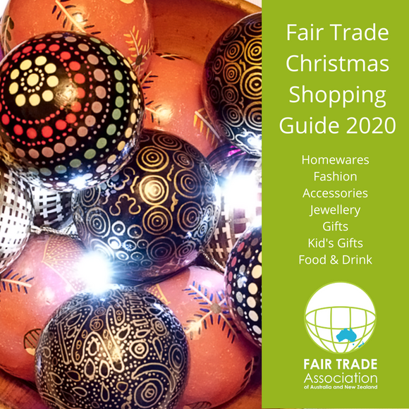 Fair Trade Christmas Shopping Guide by The Fair Trade Association of Australia and New Zealand (FTAANZ)