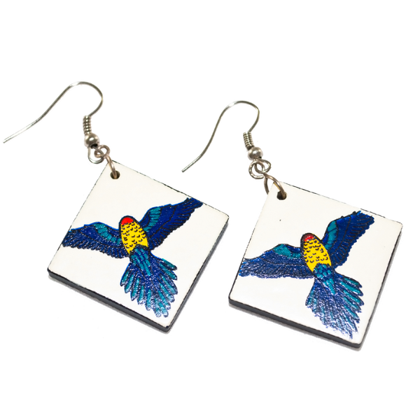 Ceramic Earrings - Rosellas