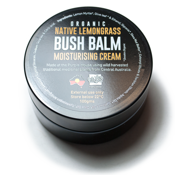 Bush Balm® Moisturising Cream Organic Native Lemongrass