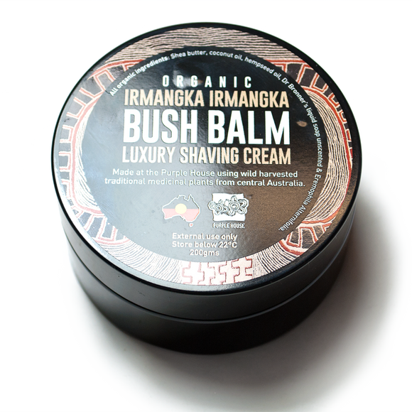 Bush Balm® Luxury Shaving Cream Organic Irmangka Irmangka
