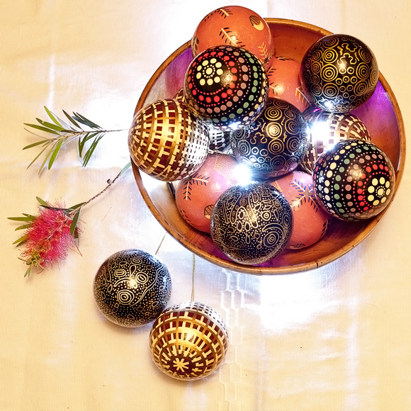 Christmas Balls Assorted Designs