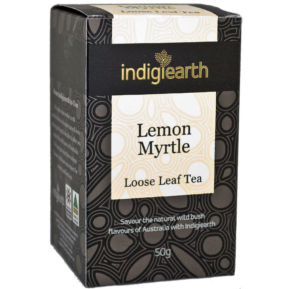 Indigiearth Lemon Myrtle Loose Leaf Tea