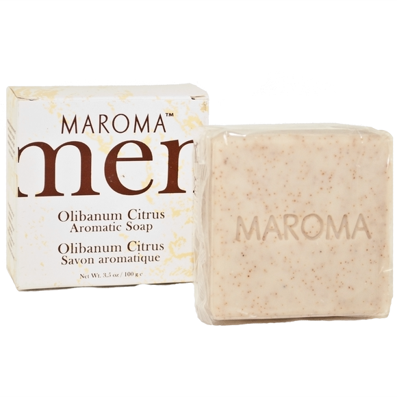 Maroma Men Soap Olibanum Citrus