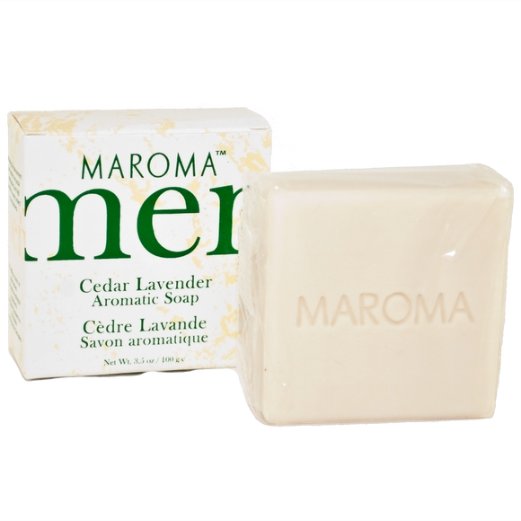 Maroma Men Soap Cedar Lavender