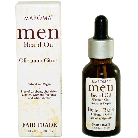 Maroma Men Beard Oil Olibanum Citrus