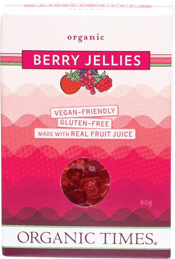 Organic Times Berry Jellies