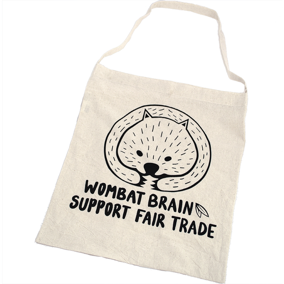 Wombat Brain Shopping Bag