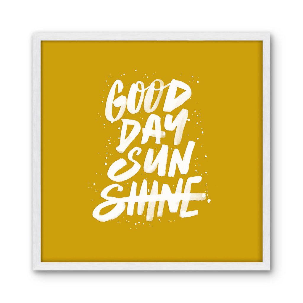 GOOD DAY SUNSHINE - yellow