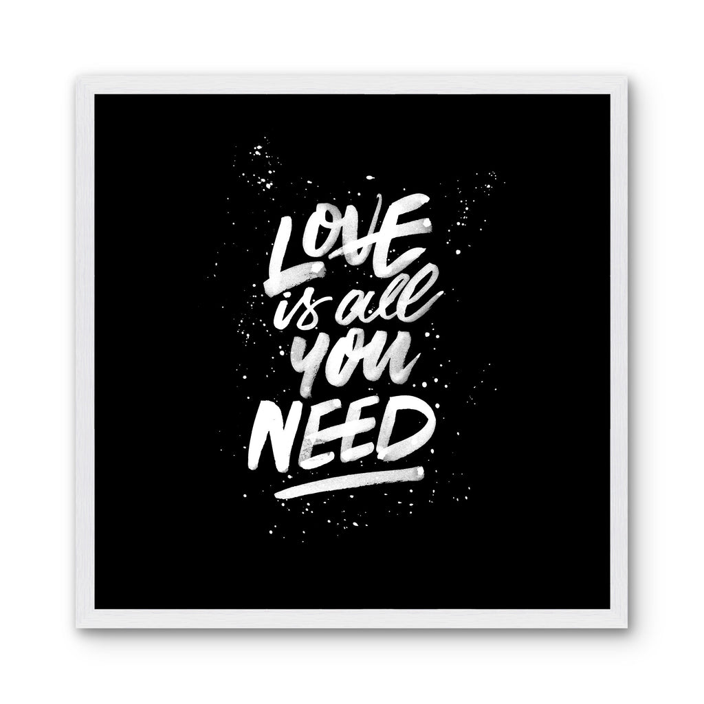 LOVE IS ALL YOU NEED - Black