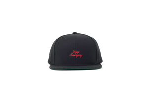 Keep Swinging Snapback (Black/Red)