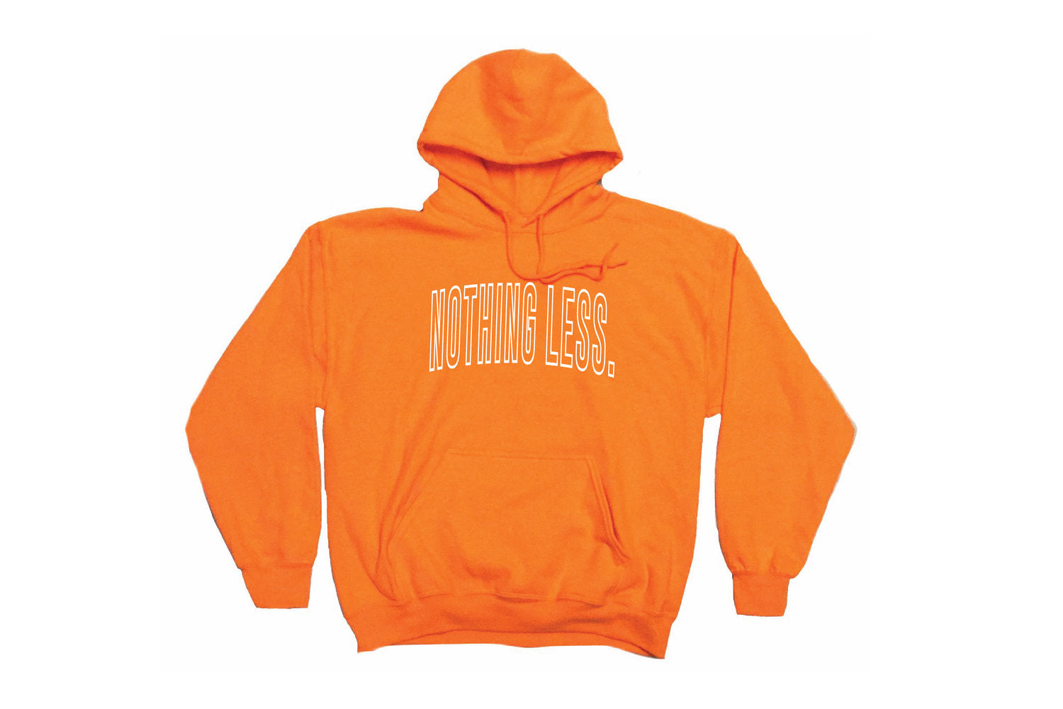 Outline Hoodie (Orange)