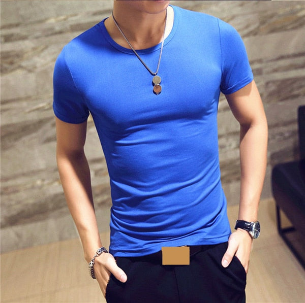 2019 MRMT Brand Clothing 10 colors V neck Men's T Shirt Men Fashion Tshirts Fitness Casual For Male T-shirt S-5XL Free Shipping