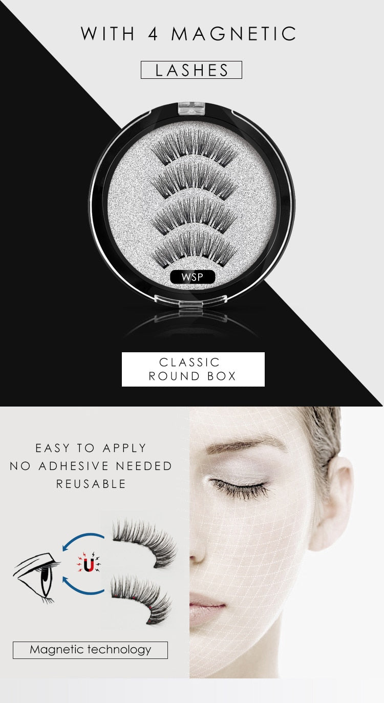 Magic Magnetic eyelashes