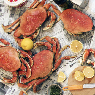 Whole Cooked Dungeness Crab - 6 Pack