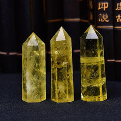 Citrine Crystal Point Obelisk - KawaiiKandi