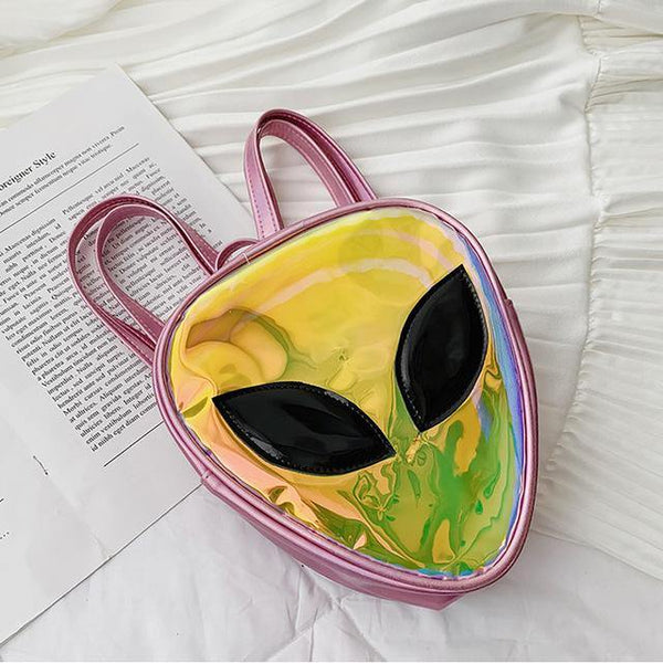 'Ethereal' Transparent Alien Backpack - KawaiiKandi