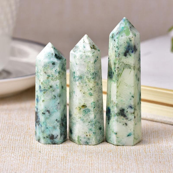 Fynchenite Crystal Point Obelisk - KawaiiKandi