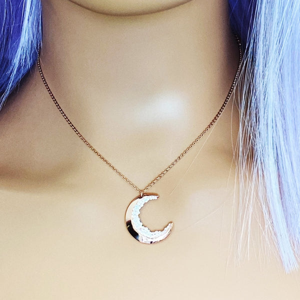 'Goddess' Stainless Steel Necklace - KawaiiKandi