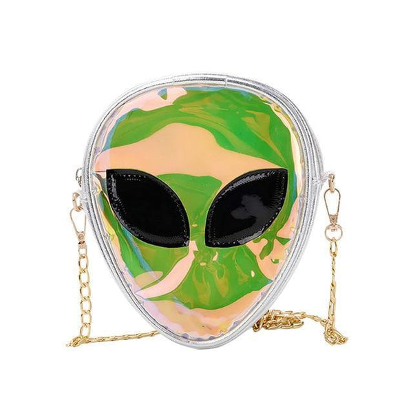 'Ethereal' Alien Transparent Mini Crossbody Bag