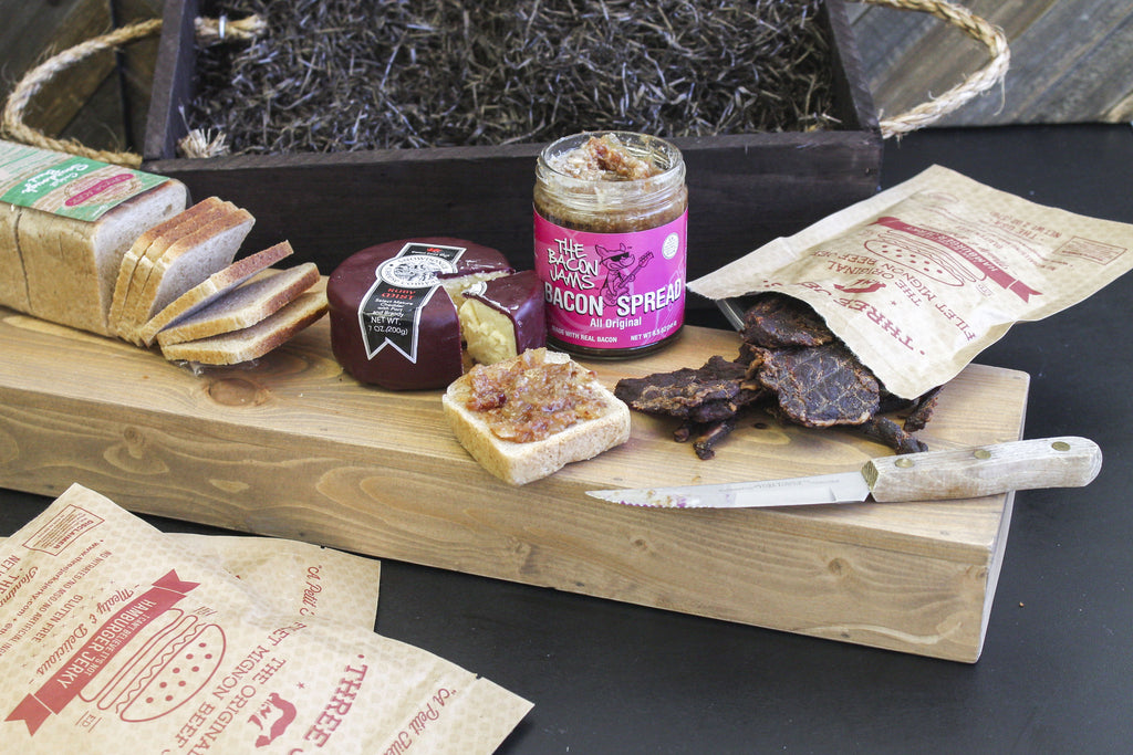 The Bacon Cheeseburger Crate