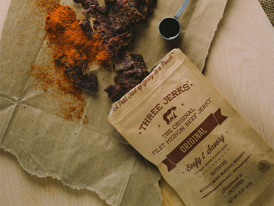 Filet Mignon Original Jerky - Beefy & Savory Free Bag