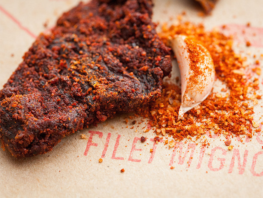 Filet Mignon Memphis BBQ Jerky - Spicy & Savory Free Bag