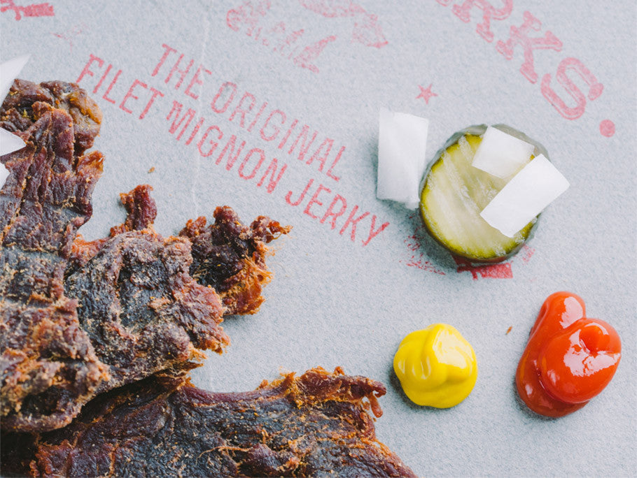 Filet Mignon Hamburger Jerky - Beefy & Delicious