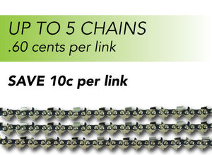 Cut Price Chainsaw Chain - 1 to 5 Chains