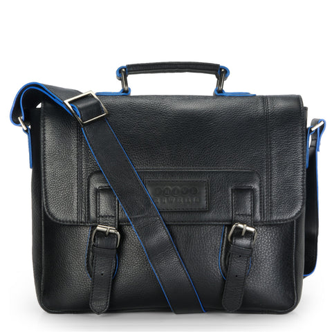Leather Messenger Bag - PR1127