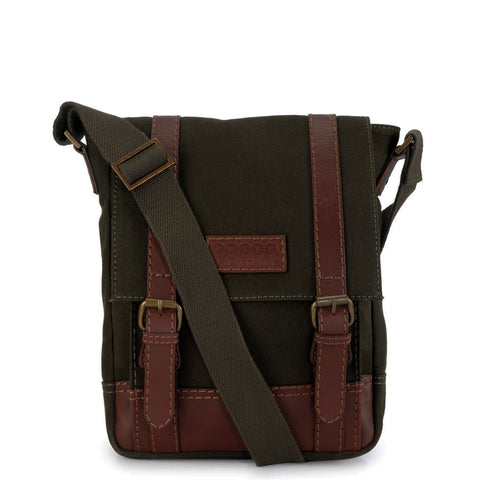 Leather Messenger Bag - PR1150