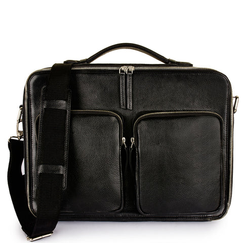 Leather Messenger Bag -PRM1296
