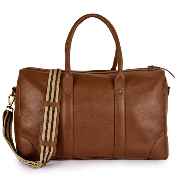 Leather Travel Duffel Bag -PRM1300