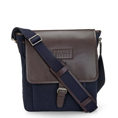 Leather Messenger Bag - PR1106